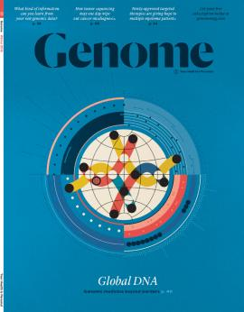 Genome Magazine cover
