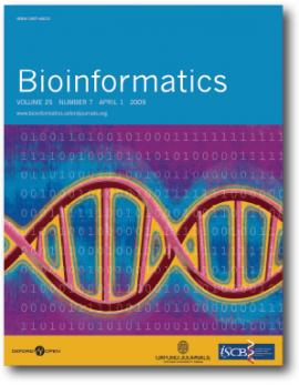 Bioinformatics journal cover