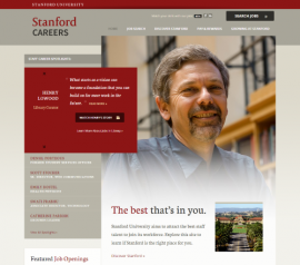 Stanford careers website photo